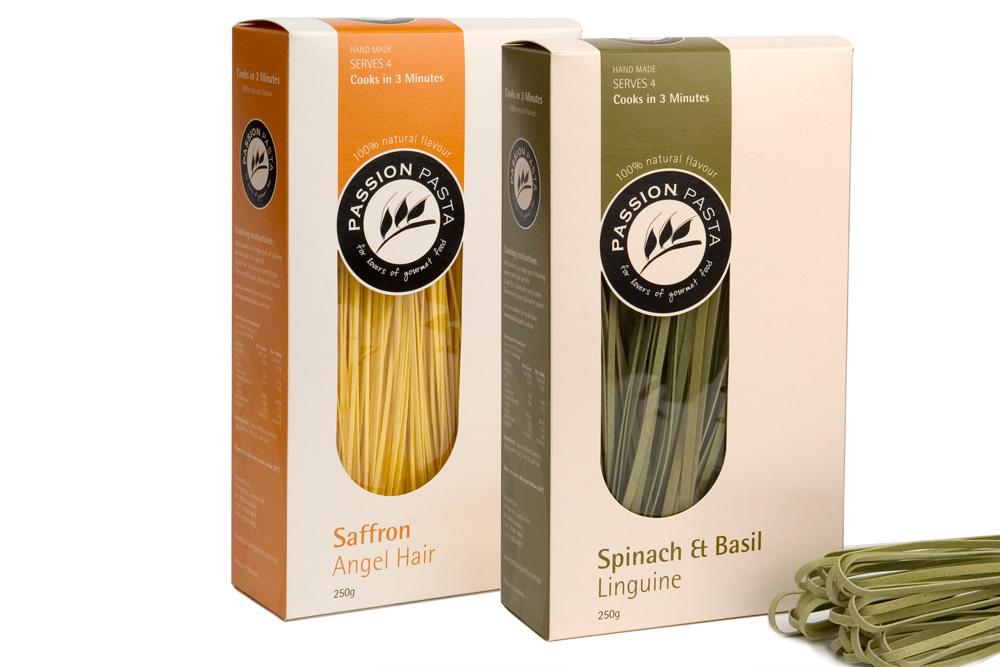Passion pasta branding packaging design branding for Industrial design packaging